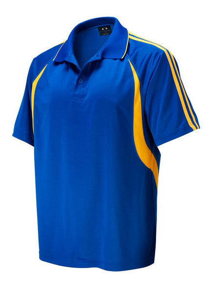 Biz Collection-Biz Collection Kids Flash Polo 2nd (6 colour)-Royal/Gold / 4-Corporate Apparel Online - 4