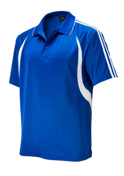 Biz Collection-Biz Collection Kids Flash Polo 2nd (6 colour)-Royal/White / 4-Corporate Apparel Online - 5