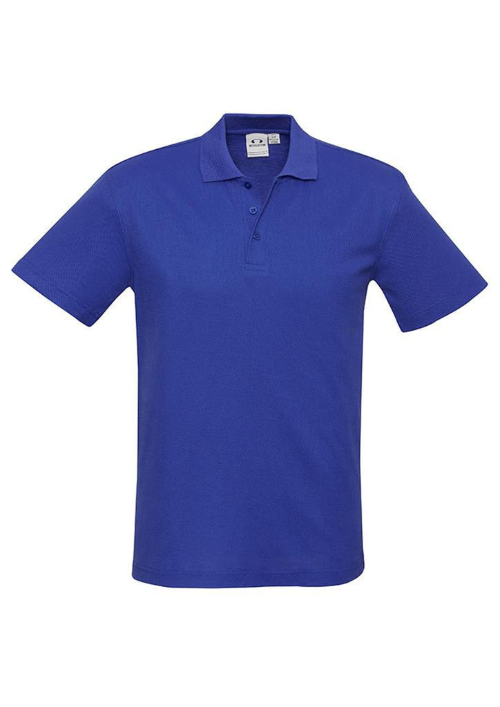 Biz Collection-Biz Collection Mens Crew Polo(1st 10 colours)-Royal / S-Corporate Apparel Online - 5