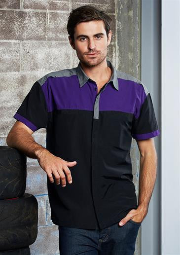 Biz Collection-Biz Collection Mens Charger Shirt--Corporate Apparel Online - 2