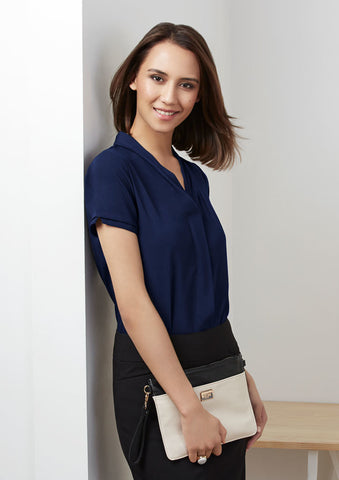 Biz Collection Madison S/S Blouse (S628LS)