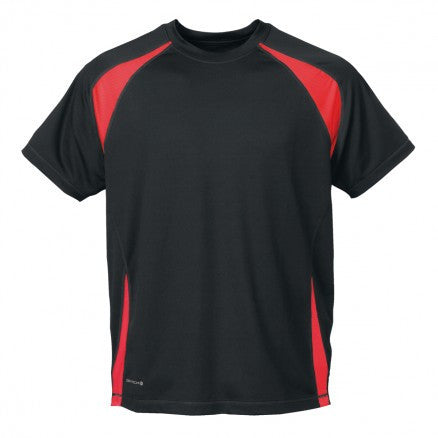 Stormtech-Stormtech Men's Club Jersey-Tech Black/Sundance / M-Corporate Apparel Online - 2