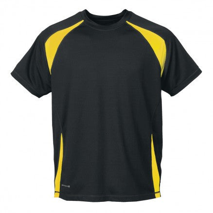 Stormtech-Stormtech Men's Club Jersey-Tech Black/Sundance / 2XL-Corporate Apparel Online - 4