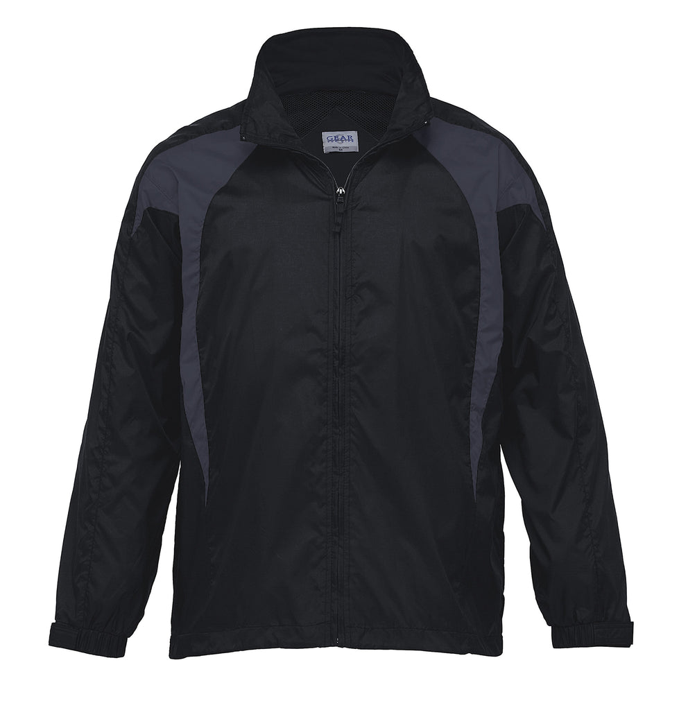 Gear For Life-Gear For Life Unisex Spliced Zenith Jacket (1st 8 Colours)-Black/Charcoal / 4XS-Corporate Apparel Online - 2