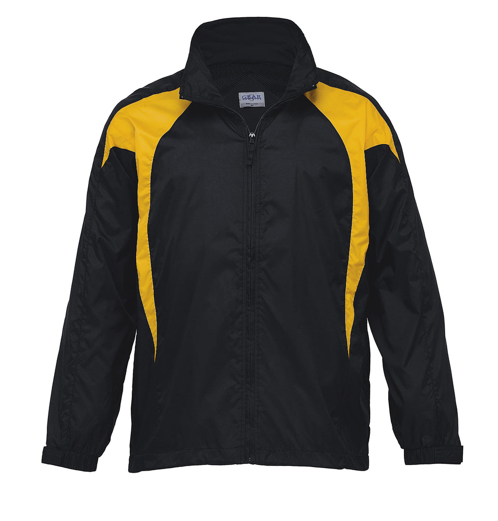 Gear For Life-Gear For Life Unisex Spliced Zenith Jacket (1st 8 Colours)-Black/Gold / 4XS-Corporate Apparel Online - 3