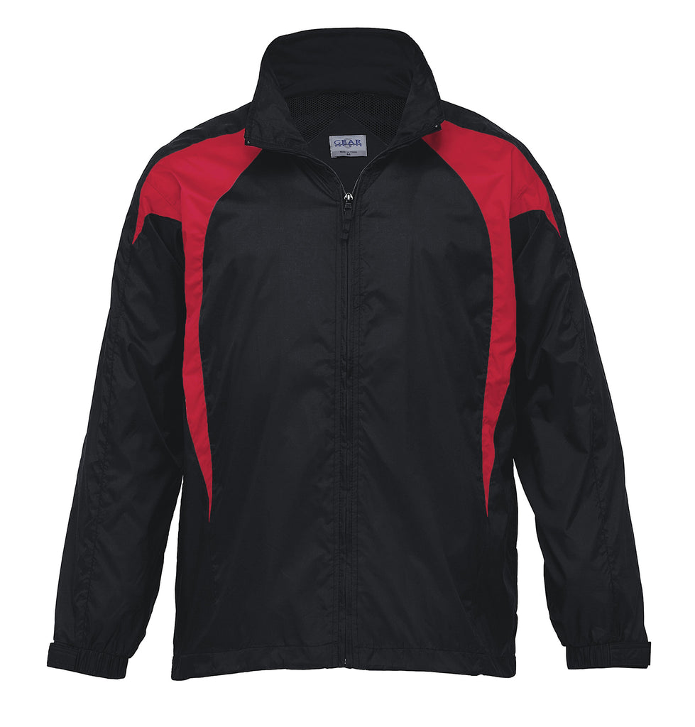 Gear For Life-Gear For Life Unisex Spliced Zenith Jacket (1st 8 Colours)-Black/Red / 4XS-Corporate Apparel Online - 4