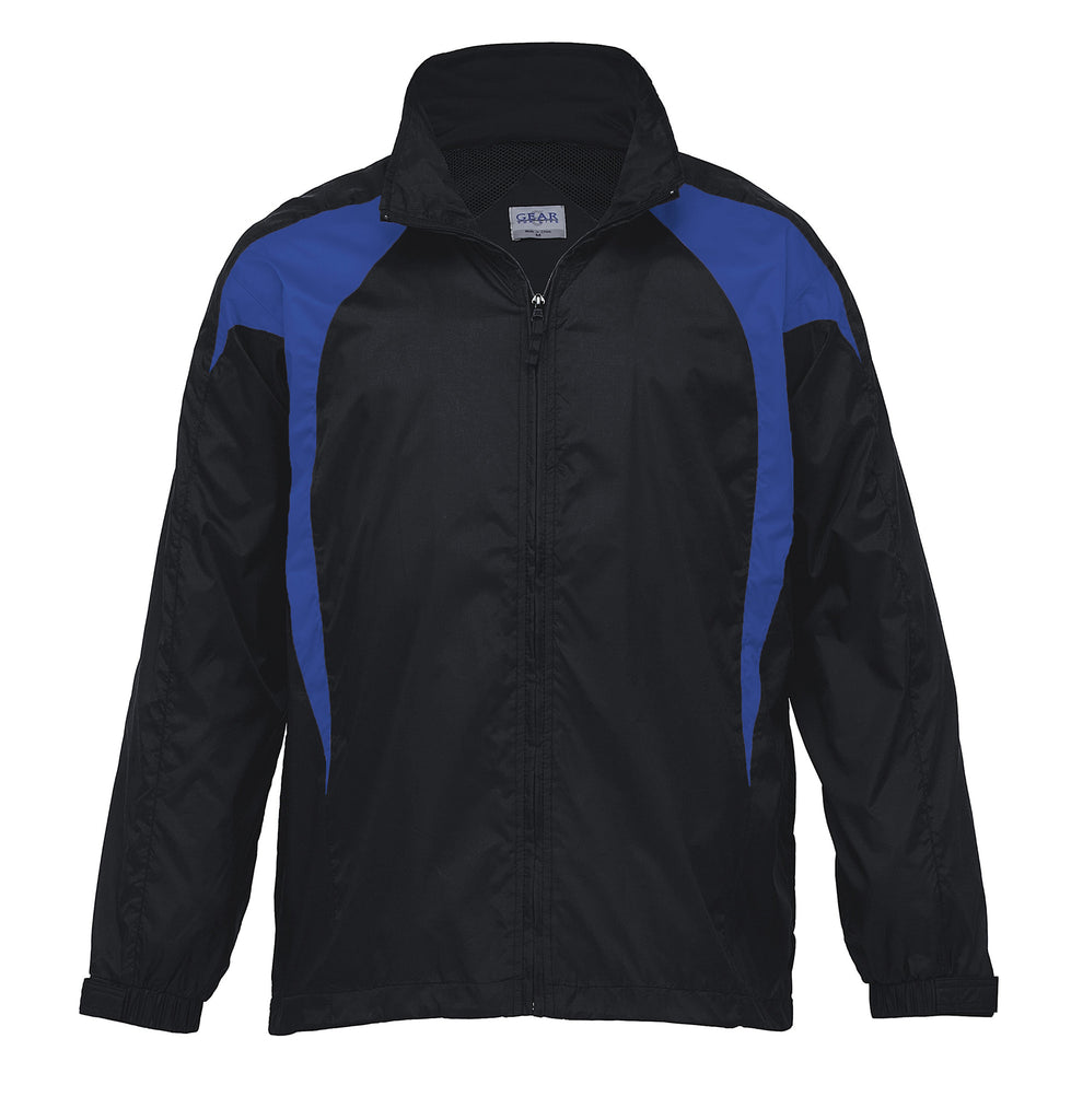 Gear For Life-Gear For Life Unisex Spliced Zenith Jacket (1st 8 Colours)-Black/Royal / 4XS-Corporate Apparel Online - 5