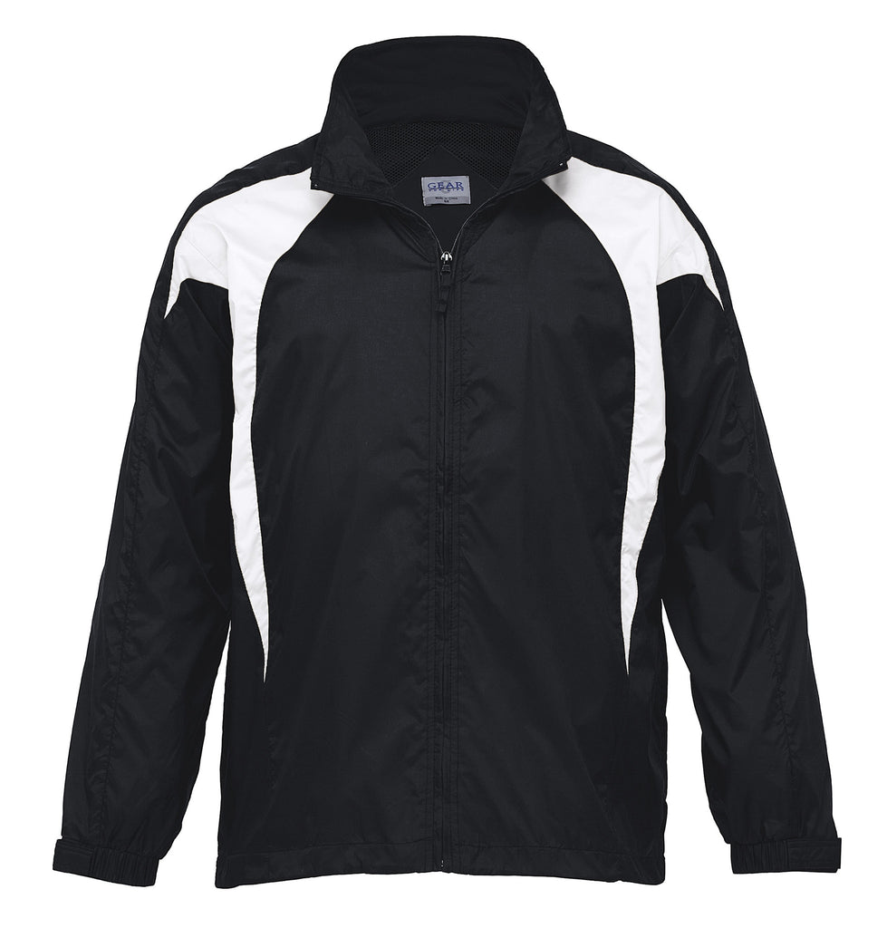 Gear For Life-Gear For Life Unisex Spliced Zenith Jacket (1st 8 Colours)-Black/White / 4XS-Corporate Apparel Online - 6