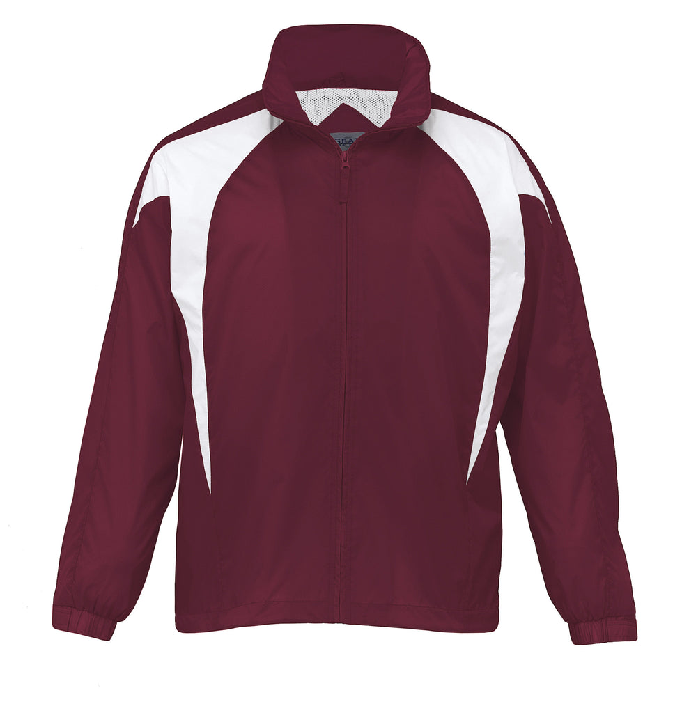 Gear For Life-Gear For Life Unisex Spliced Zenith Jacket (1st 8 Colours)-Maroon/White / 4XS-Corporate Apparel Online - 7
