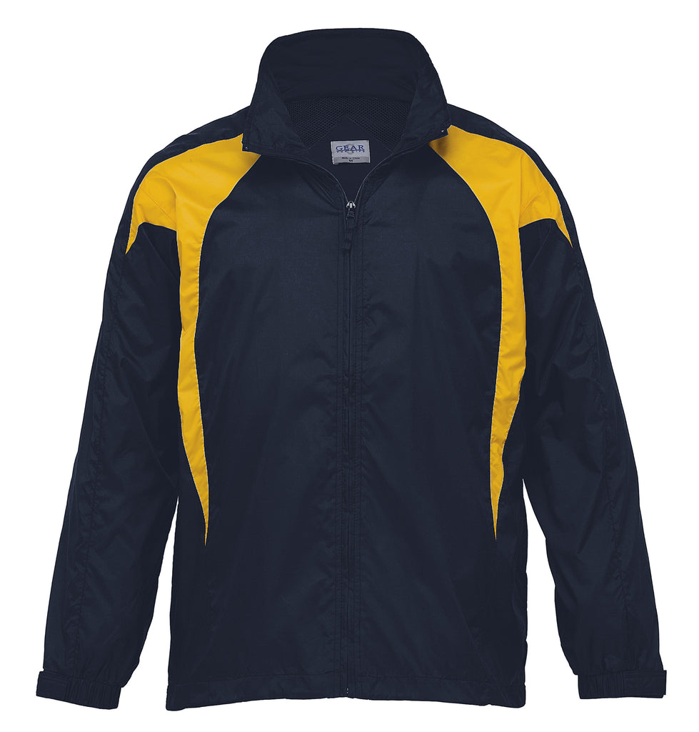 Gear For Life-Gear For Life Unisex Spliced Zenith Jacket (1st 8 Colours)-Navy/Gold / 4XS-Corporate Apparel Online - 8