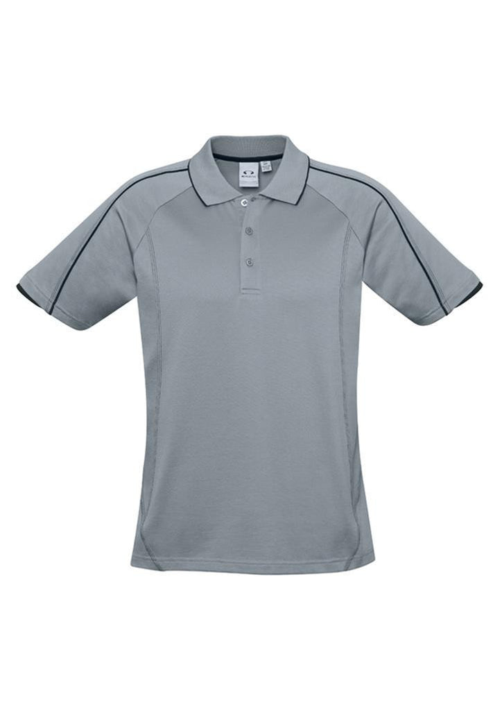 Biz Collection-Biz Collection Mens Blade Polo-SilverGrey/Black / S-Corporate Apparel Online - 6