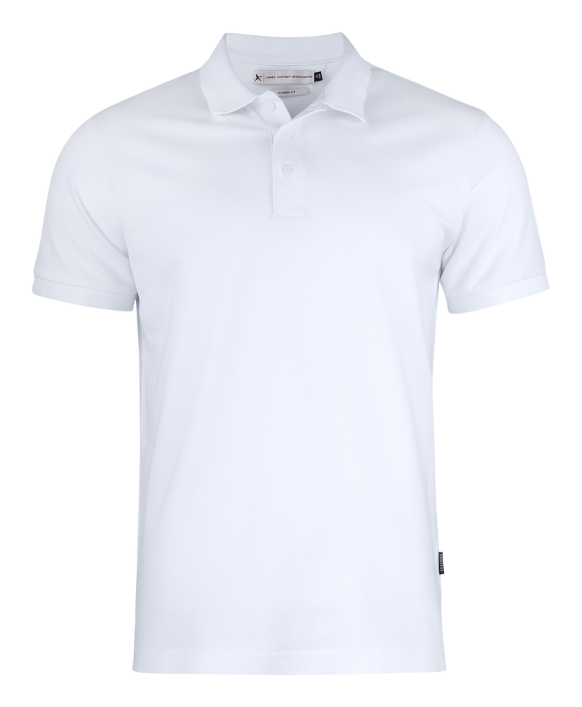 James Harvest Men's Polo Cotton/Lycra (JH201S)
