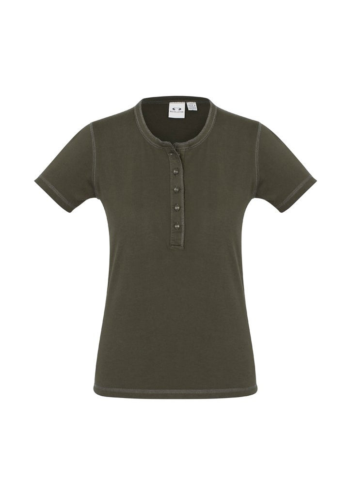 Biz Collection Ladies Vintage Tee-(T811L)