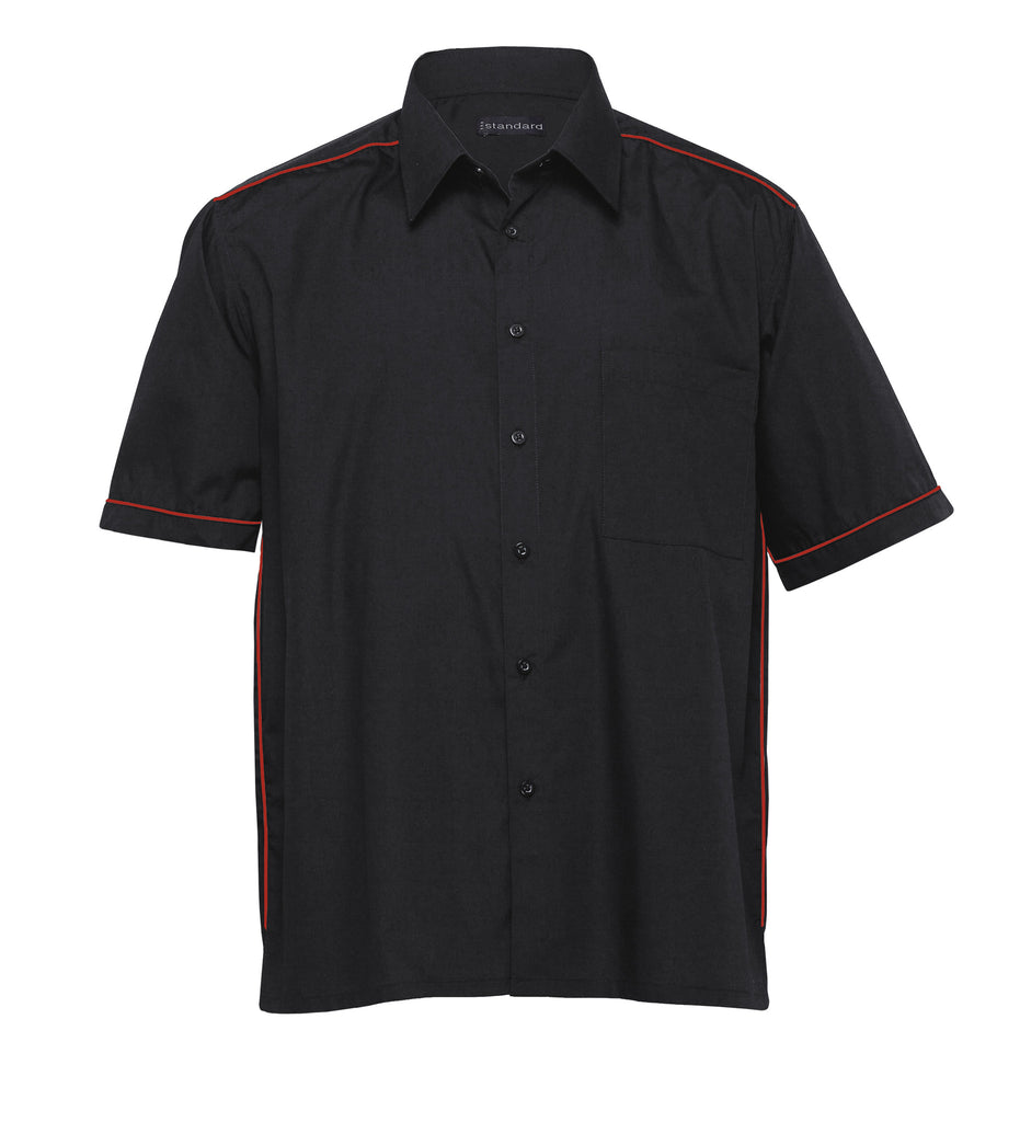 Gear For Life-Gear For Life The Matrix Teflon Shirt- Mens-Black/Red / S-Corporate Apparel Online - 2