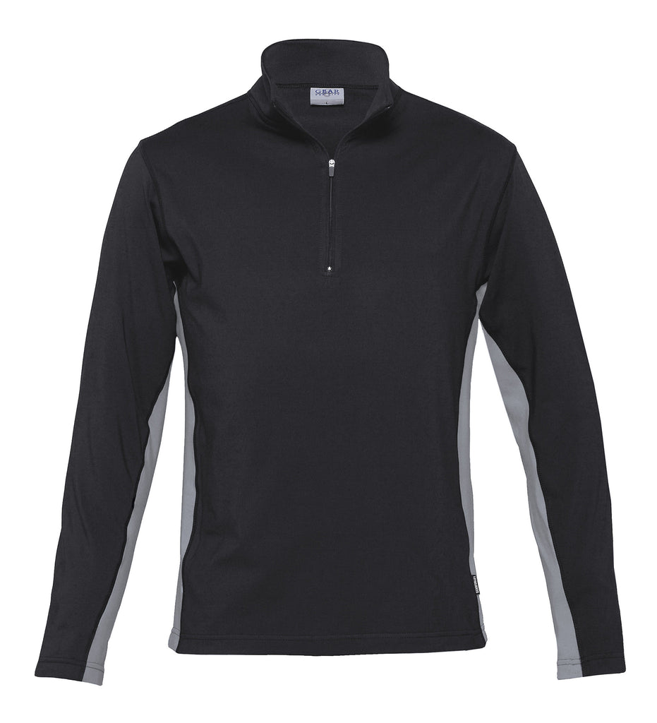 Gear For Life-Gear For Life Unisex Transition Top-Black/Aluminium / XS-Corporate Apparel Online - 2