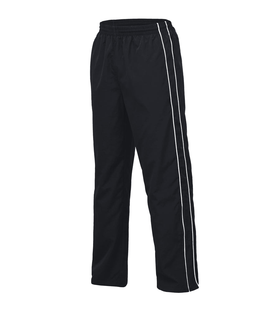 Gear For Life-Gear For Life Unisex Twin Stripe Trackpants-Black/White / 4XS-Corporate Apparel Online - 2