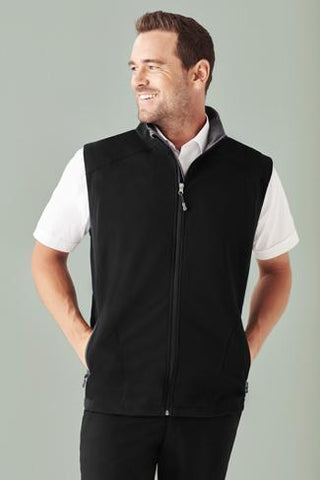 Biz Care Mens Geneva Vest (J404M)