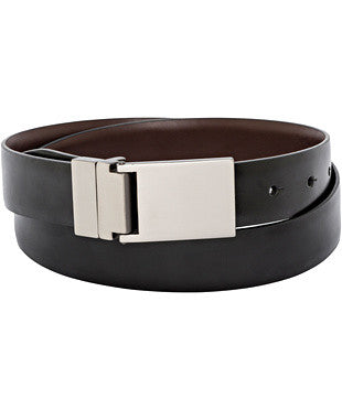 Van Heusen-Van Heusen Plate Buckle Black Belt-32 / Black-Corporate Apparel Online