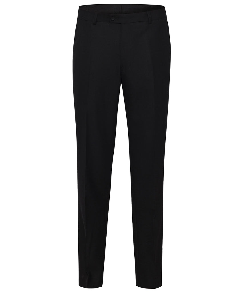 Van Heusen-Van Heusen High Twist Wool Rich Suit Trouser-80 / BLACK-Corporate Apparel Online - 1