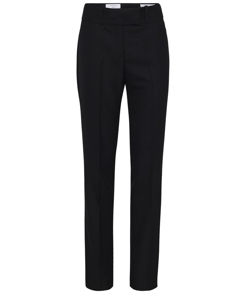 Van Heusen-Van Heusen High Twist Wool Rich Suit Trouser-6 / BLACK-Corporate Apparel Online - 1