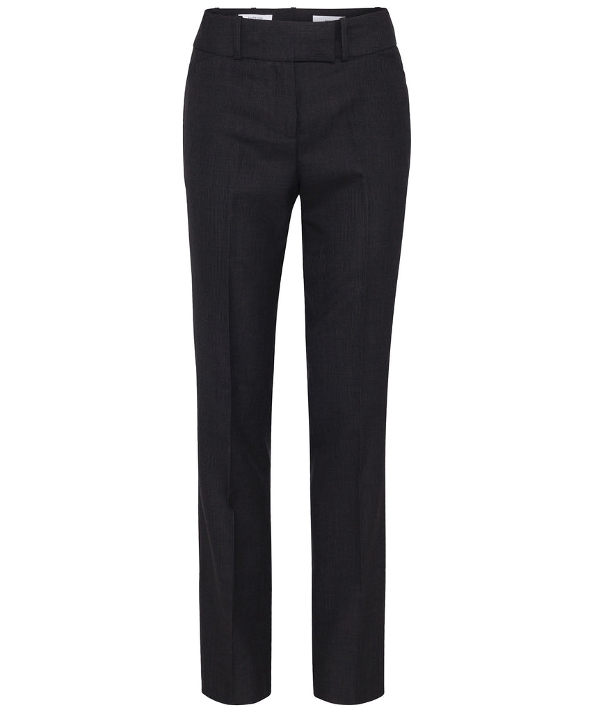 Van Heusen-Van Heusen High Twist Wool Rich Suit Trouser-6 / CHARCOAL-Corporate Apparel Online - 2
