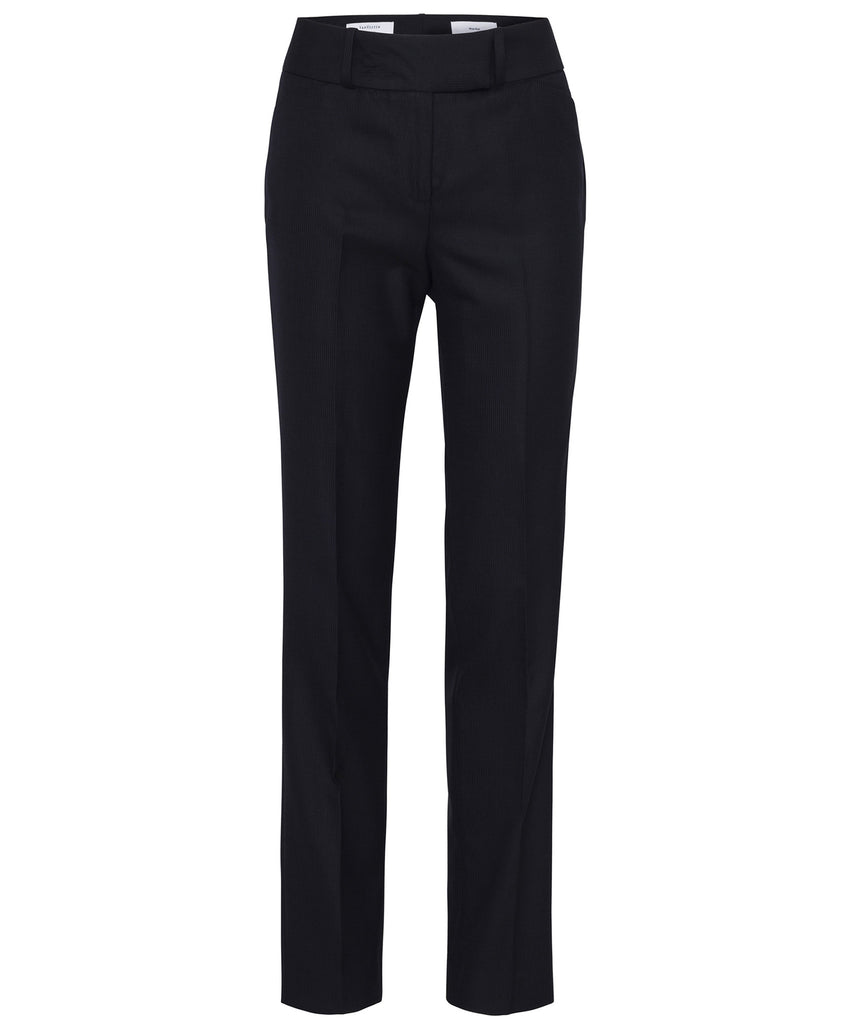 Van Heusen-Van Heusen High Twist Wool Rich Suit Trouser-6 / Ink-Corporate Apparel Online - 3