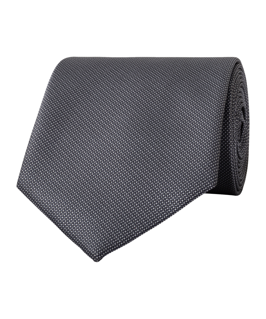 Van Heusen-Van Heusen Classic Poly Tie-GREY-Corporate Apparel Online - 3