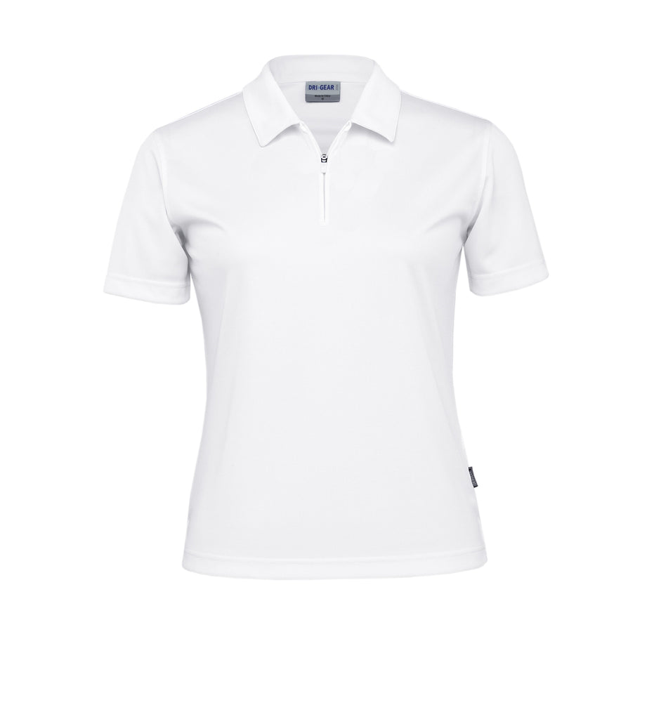 Gear For Life-Gear For Life Dri Gear Womens Axis Polo-White / 8-Corporate Apparel Online - 5