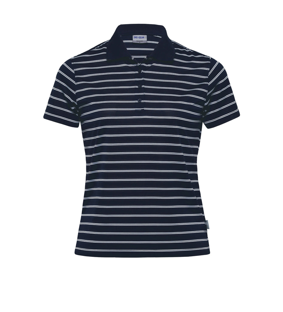 Gear For Life-Gear For Life Dri Gear Womens Fairway Polo-Navy/White / 8-Corporate Apparel Online - 6