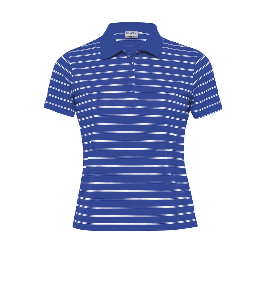 Gear For Life-Gear For Life Dri Gear Womens Fairway Polo-Royal/White / 8-Corporate Apparel Online - 3