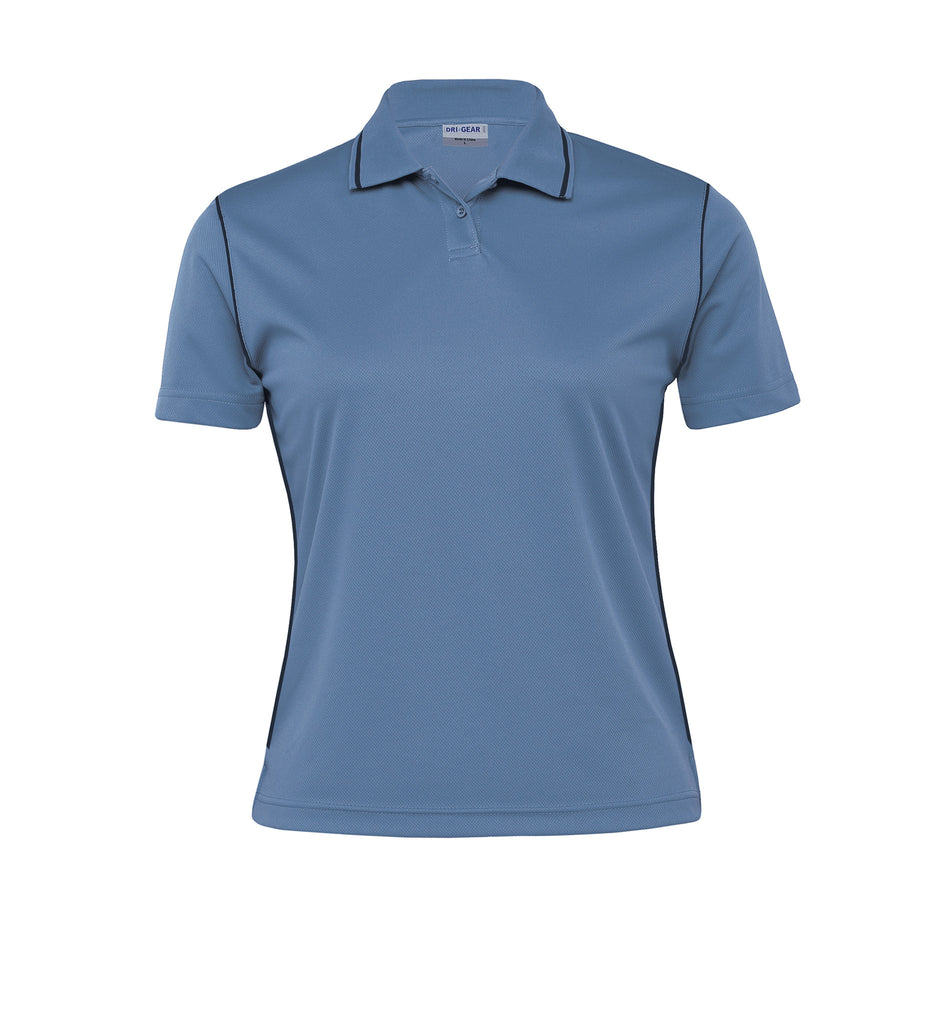 Gear For Life-Gear For Life Dri Gear Womens Hype Polo-Blueberry/Navy / 8-Corporate Apparel Online - 3