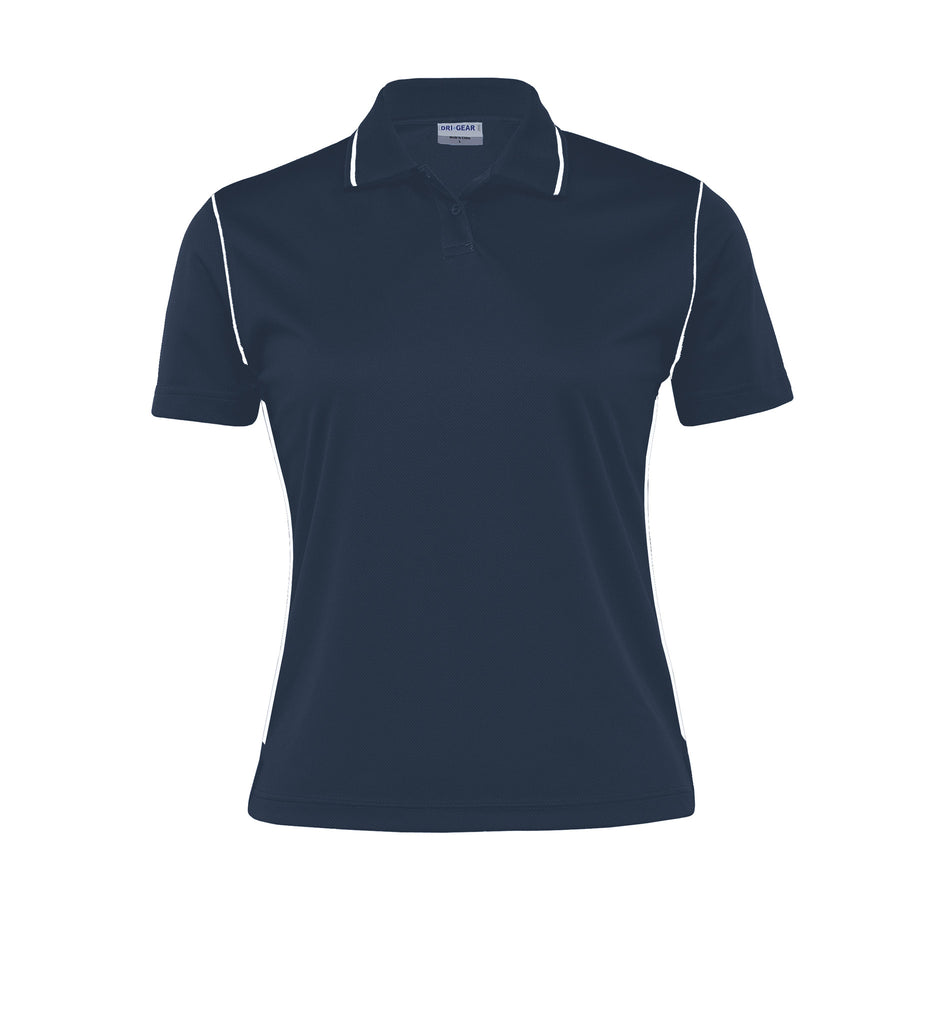 Gear For Life-Gear For Life Dri Gear Womens Hype Polo-Navy/White / 8-Corporate Apparel Online - 6