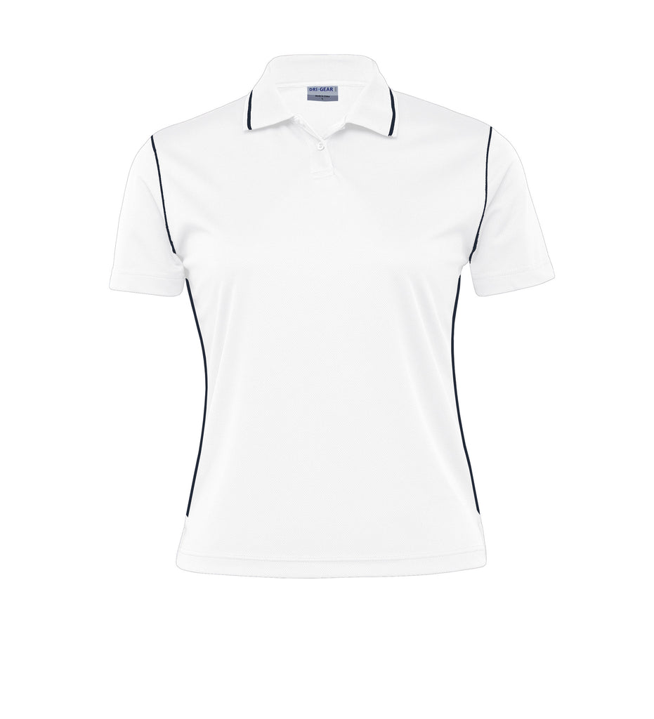 Gear For Life-Gear For Life Dri Gear Womens Hype Polo-White/Navy / 8-Corporate Apparel Online - 8