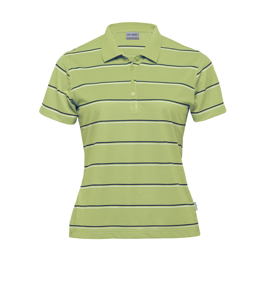 Gear For Life-Gear For Life Dri Gear Womens Kinetic Polo-Apple/Navy/White / 8-Corporate Apparel Online - 2