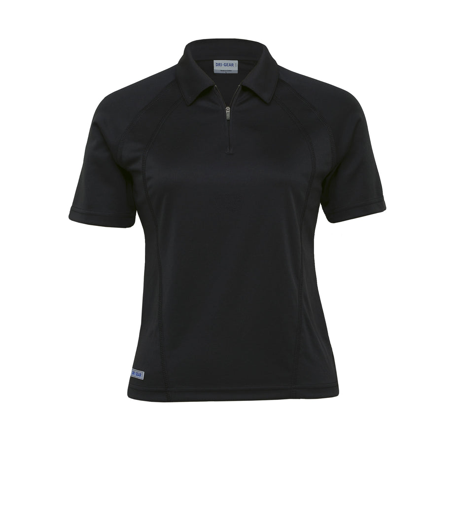 Gear For Life-Gear For Life Dri Gear Womens Active Polo-Black / 8-Corporate Apparel Online - 2