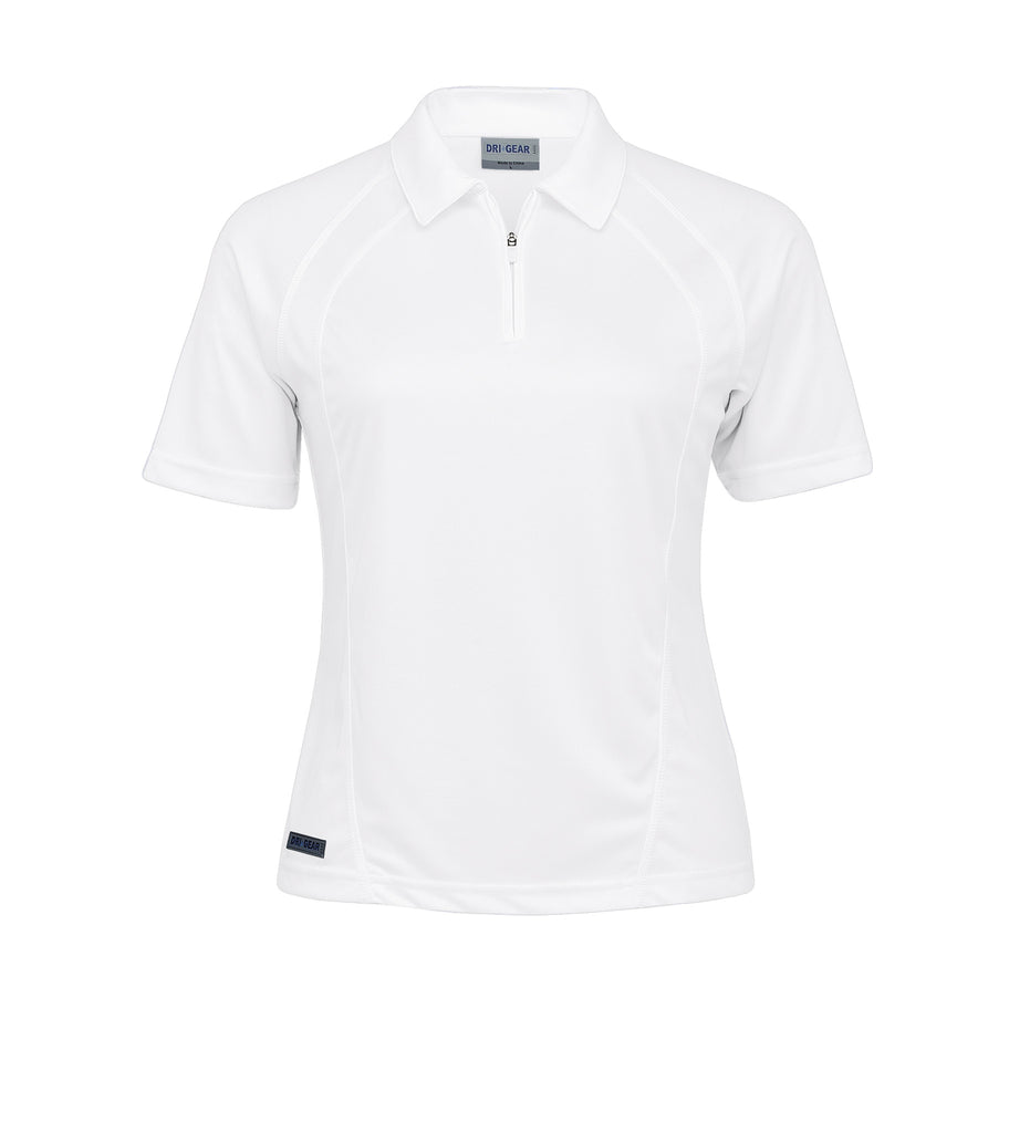 Gear For Life-Gear For Life Dri Gear Womens Active Polo-White / 8-Corporate Apparel Online - 4