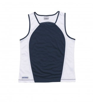 Gear For Life-Gear For Life Dri Gear Womens Contrast Singlet-8 / Navy/White-Corporate Apparel Online - 4