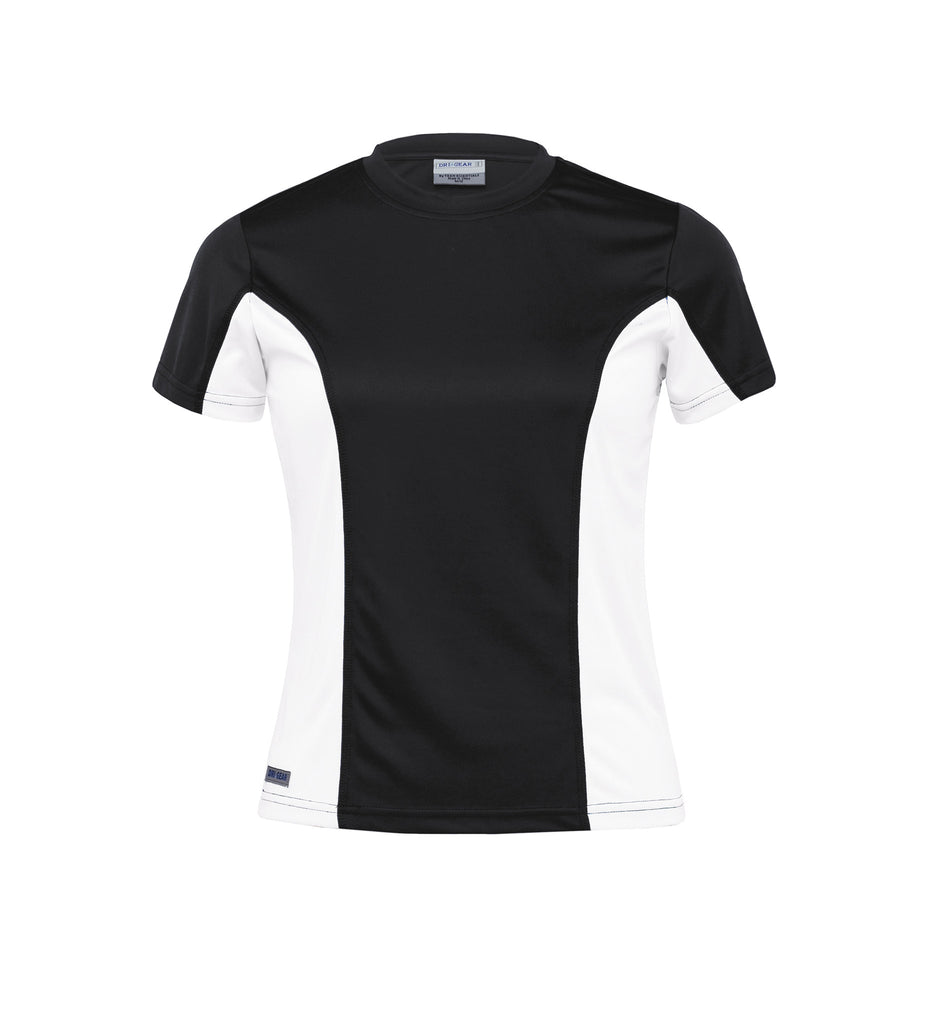 Gear For Life-Gear For Life Dri Gear Womens Active Viper Tee-Black/White / 8-Corporate Apparel Online - 2