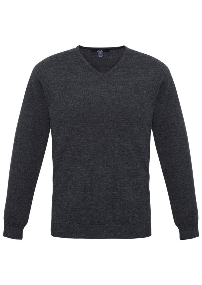 Biz Collection-Biz Collection Mens Milano Pullover-CHARCOAL / XS-Corporate Apparel Online - 3