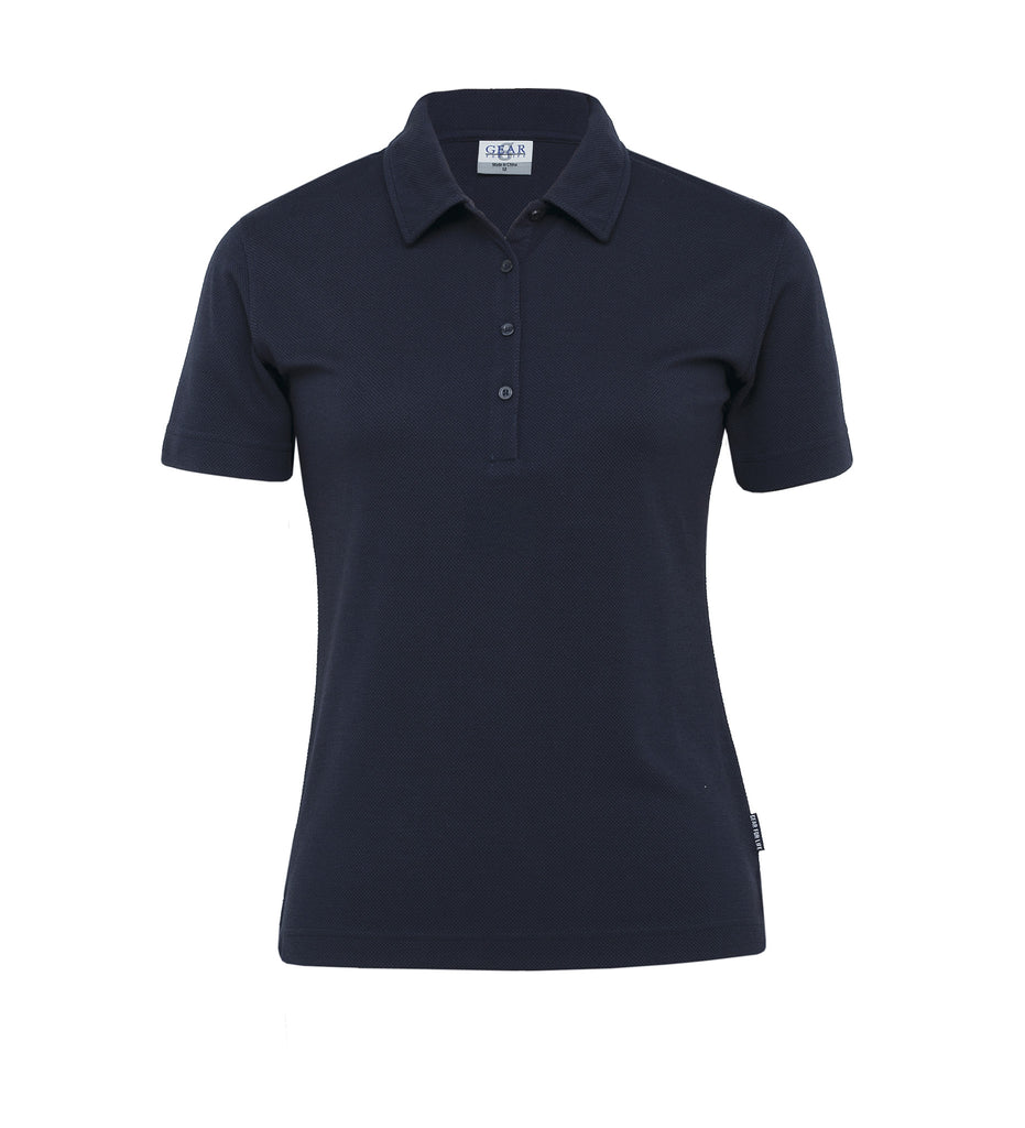 Gear For Life-Gear For Life Womens Pinacool Eco Polo-Navy / 8-Corporate Apparel Online - 3