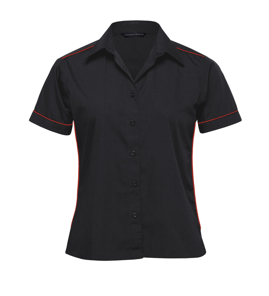 Gear For Life-Gear For Life The Matrix Teflon Shirt- Womens-Black/Red / 8-Corporate Apparel Online - 2