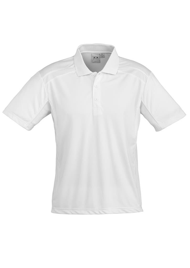 Biz Collection-Biz Collection Mens United Short Sleeve Polo 2nd  ( 10 Colour )-White / Small-Corporate Apparel Online - 11