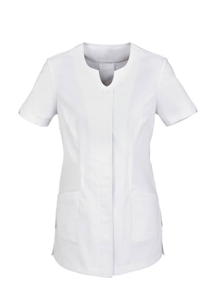 Biz Collection-Biz Collection Ladies Eden Tunic-White / 6-Corporate Apparel Online - 3