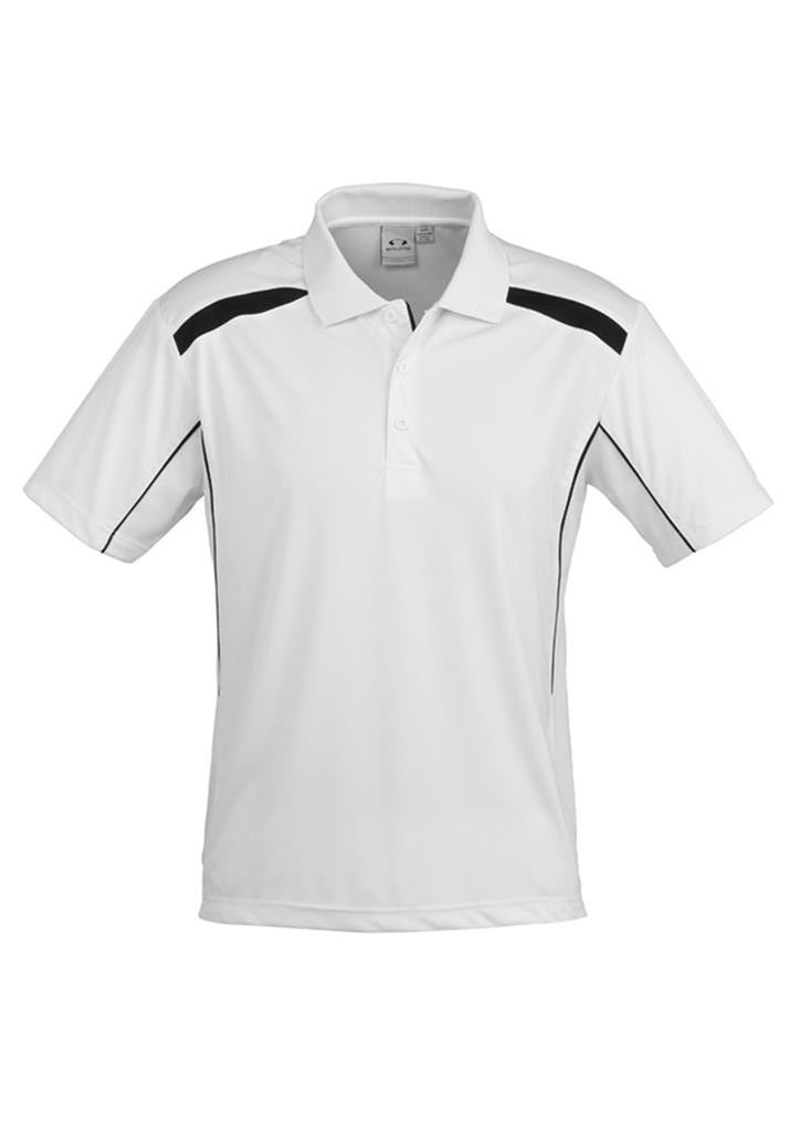 Biz Collection-Biz Collection Mens United Short Sleeve Polo 2nd  ( 10 Colour )-White / Black / Small-Corporate Apparel Online - 6