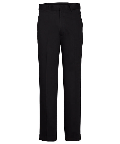 Van Heusen Gents Black Flat Front, High Twist Yarn, Nail Head Fabric Trouser (AVNT01BLK)