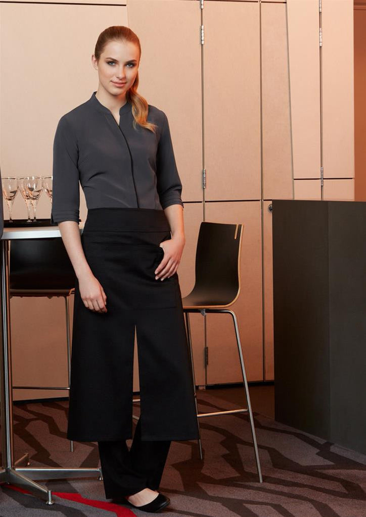 Biz Collection-Biz Collection Continental Style Full Length Apron--Corporate Apparel Online - 1