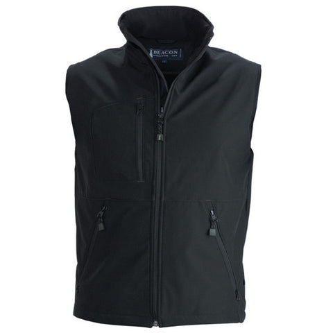 James Harvest-Beacon Montana Gents Vests-S / BLACK-Corporate Apparel Online - 1