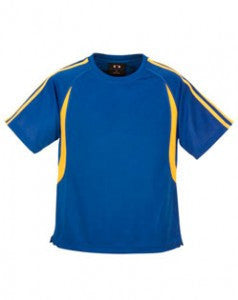 Biz Collection-Biz Collection Kid's Flash Tee 2nd ( 5 Colour )-Royal / Gold / 4-Corporate Apparel Online - 3