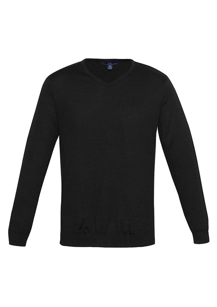 Biz Collection-Biz Collection Mens Milano Pullover-Black / XS-Corporate Apparel Online - 2