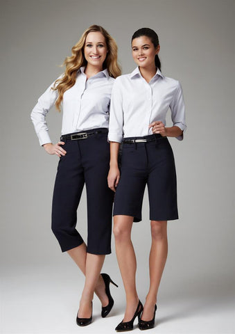 Biz Collection-Biz Collection Ladies Classic 3/4 Pant--Corporate Apparel Online - 1